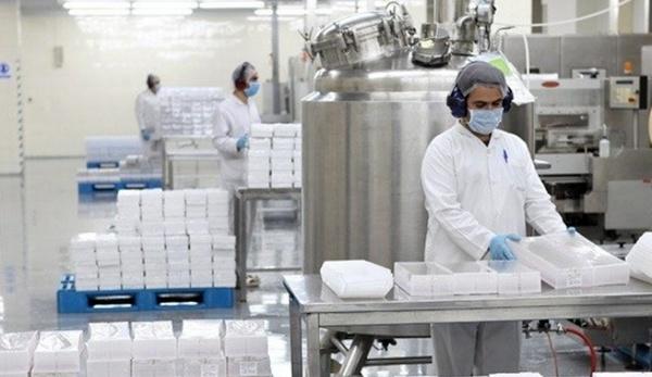 خط إنتاج لأحد معامل الأدوية